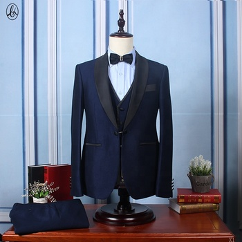 Best Price Custom Made Slim Fit 3 Piece Men Formal Tuxedo Suit