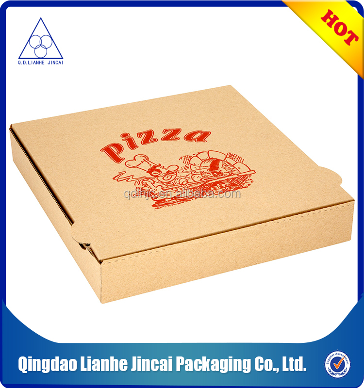 cheap pizza box kraft paper packing