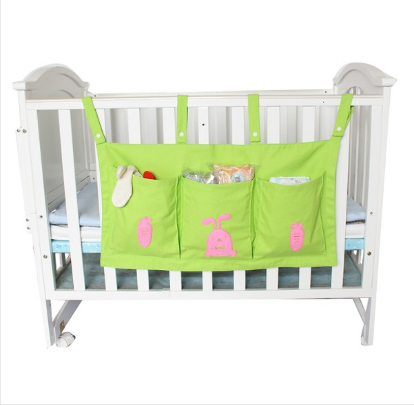 diaper wall hot sell organizer canvas baby hanging storage bag