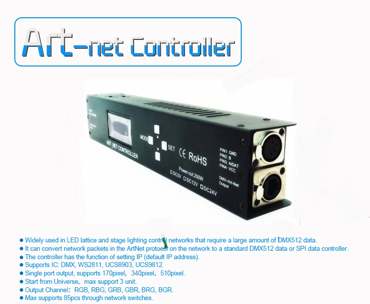 2019 China Manufacturers RGB Pixel Led Controller