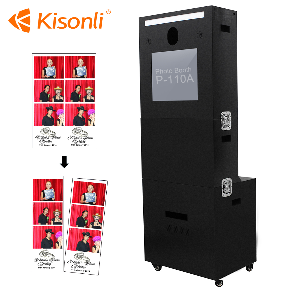 Super Useful Photo booth Portable Interactive Photobooth Wedding photo booth printer kiosk