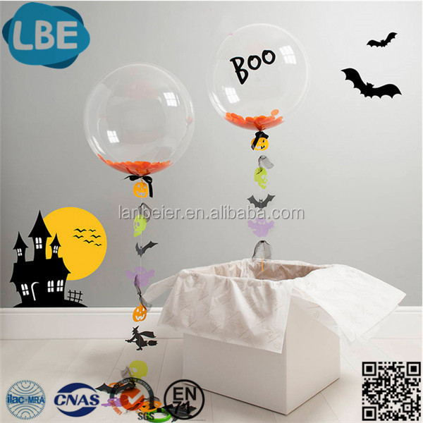 "party decoration Wholesale 10""/18""/24""/32"" clear round bobo balloon"