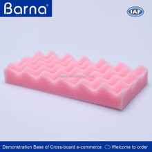 black foam sponge/noise reduction foam sponge/noise insulation sponge foam
