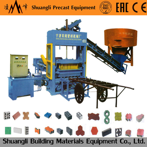 QT4-24 new style animal feed block making machine for build materials