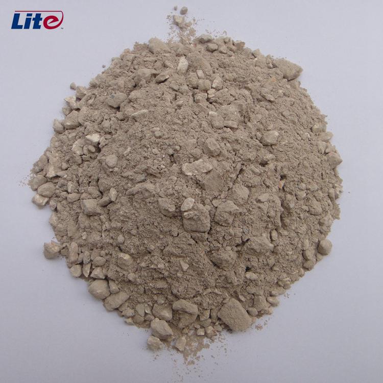 Alta resistência à temperatura do concreto refratário de baixo cimento de alta alumina 70%/argamassa