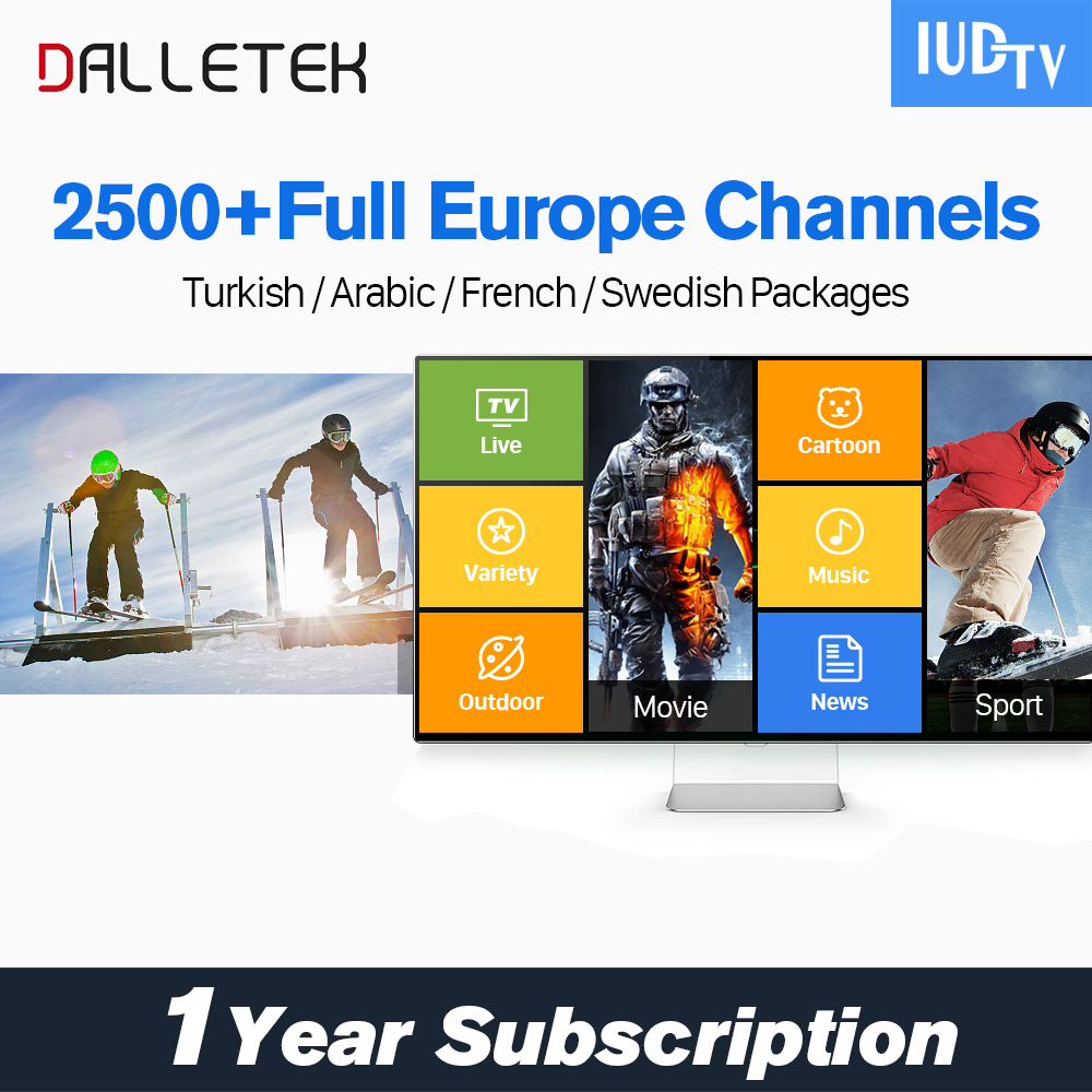 Best IPTV in USA IUDTV IPTV Subscription 1 Year Free Sport Channels Spanish TV Channels