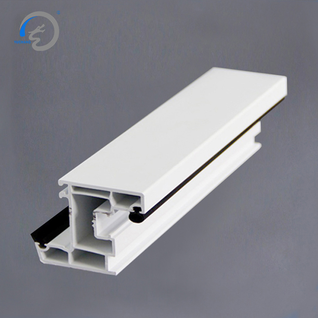 co-extruded factory pvc window profile for 60mm casement series
