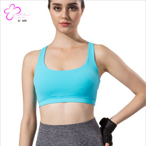 Top sales Women fitness wear padded sports bra