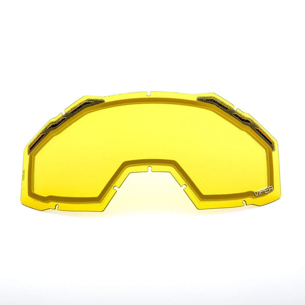 c4f91ae4027 Get Quotations · Klim Viper Replacement Lenses -Yellow Tint