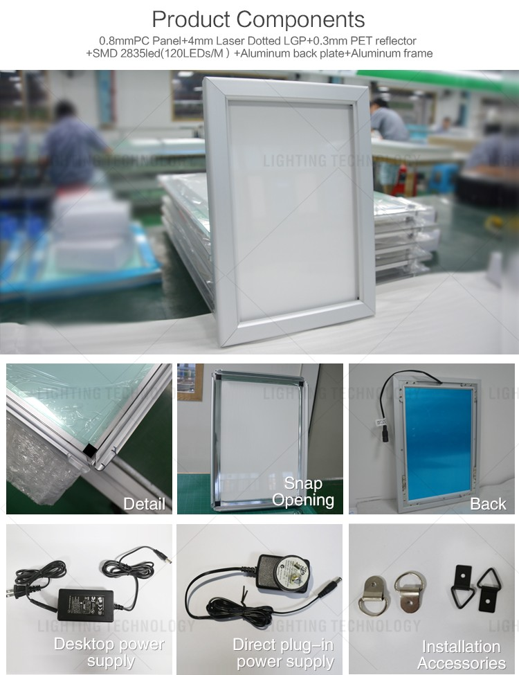 Hot Selling Advertising Aluminum Snap Frame Picture Poster/photo ...