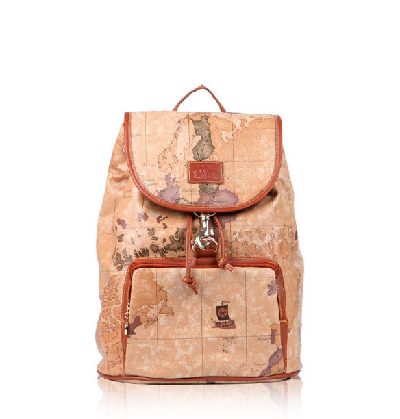 Buy Hot Selling B.ANGEL Vintage Brown World Map Bags PVC ... World Map Satchel on map shoes, map luggage, map boots, map crossbody, map skirt, map phone case, map jacket, map scarf, map white, map trunk, map suitcase, map wallet, map sweater,