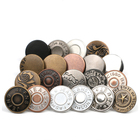 New style High quality Classic antique vintage 17mm accessories and rivets custom logo denim metal tack Jeans button for jeans
