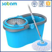 2016 new assemble 360 degree spin magic mop microfiber