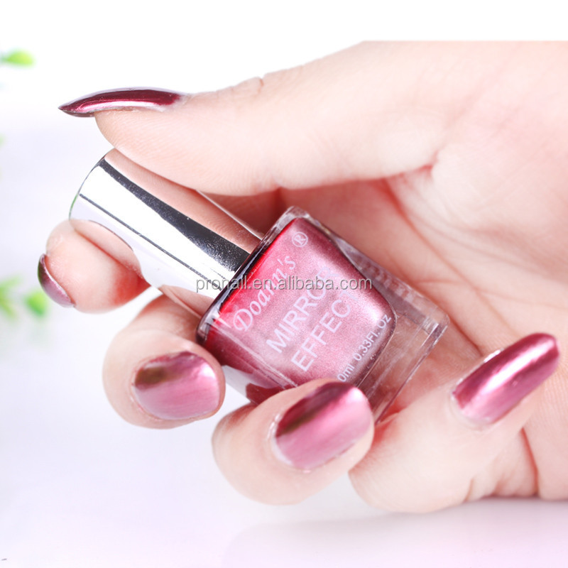 Venta caliente uñas metálico efecto espejo esmalte de uñas 10 ml FF ...