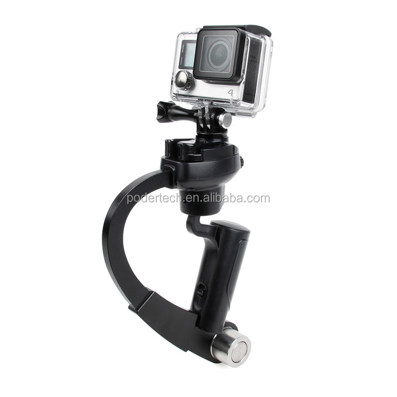 Steady Handheld Video Gimbal Stabilizer Steadicam Curve For GoPros Heros Camera 5 4 3+ 3 accessories GP222