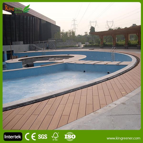 Kingreen fabriek leveren wpc composiet openlucht zwembad for Zwembad tegels