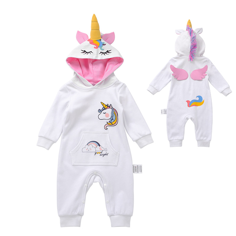 The Pyjama Factory Lovely Unicorn All Over Design Pink All in Onesie 100/% Cotton Sleepsuit
