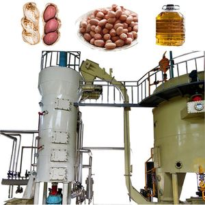 Soybean Oil Plant with Pretreatment and Solvent Extraction and Refining Line