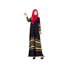 china factory price wholesale islamic muslim abaya party dress gown with hijab