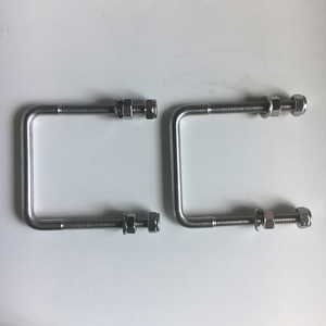 304 stainless steel square u bolts clamp u-bolt
