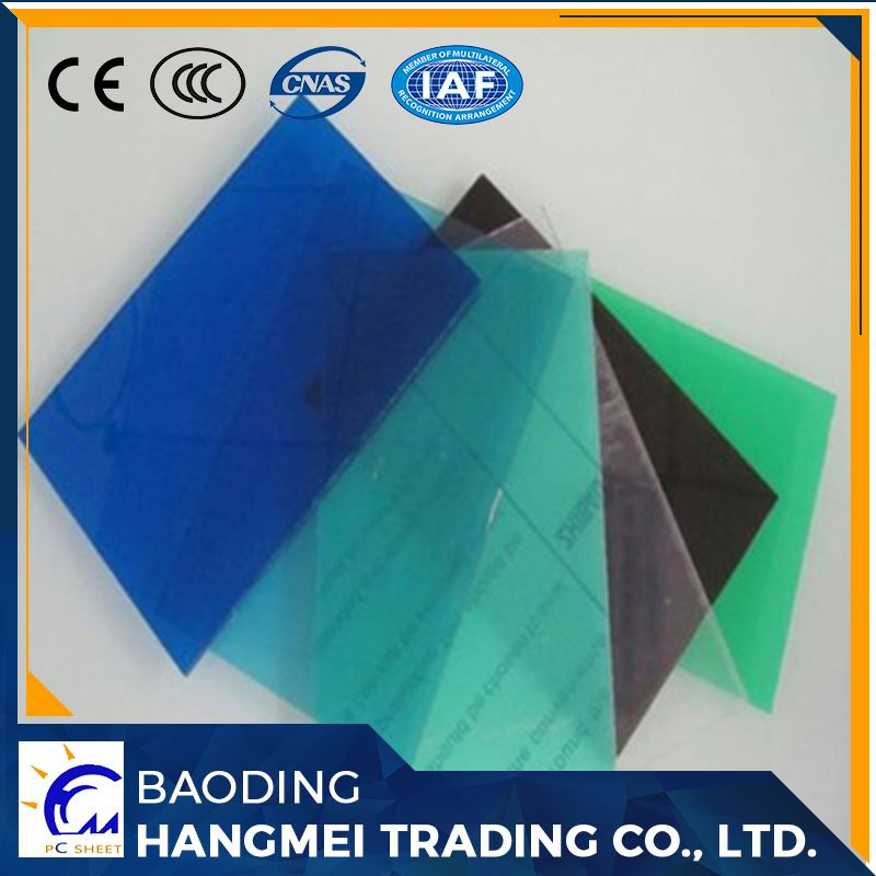Grade A 100% Raw material polycarbonate price m2