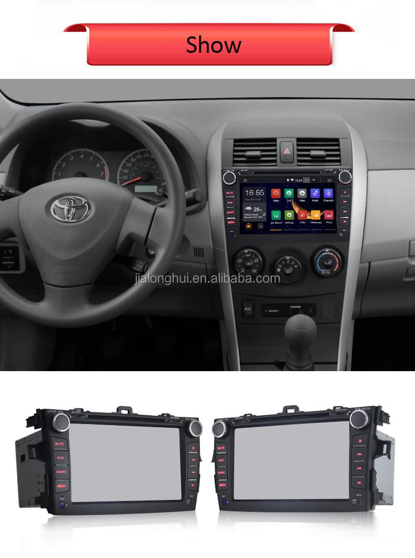 toyota corolla touch screen radio