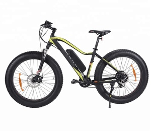 26 inch 500W mountain electric bicycle fat tire bike with 8 FUN motor