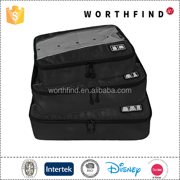 waterproof polyester bag organizer travel