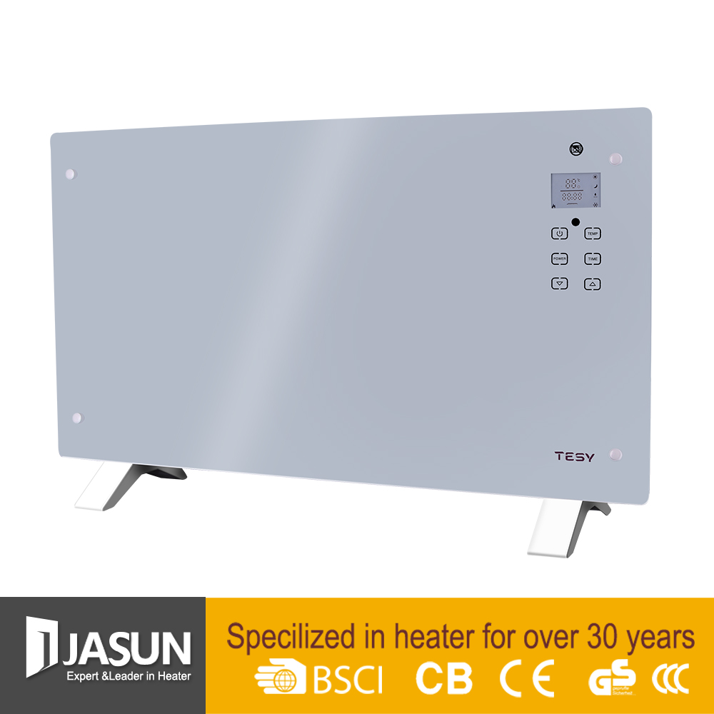 freestading or wall mounted best electric Glass Panel Convector Heater