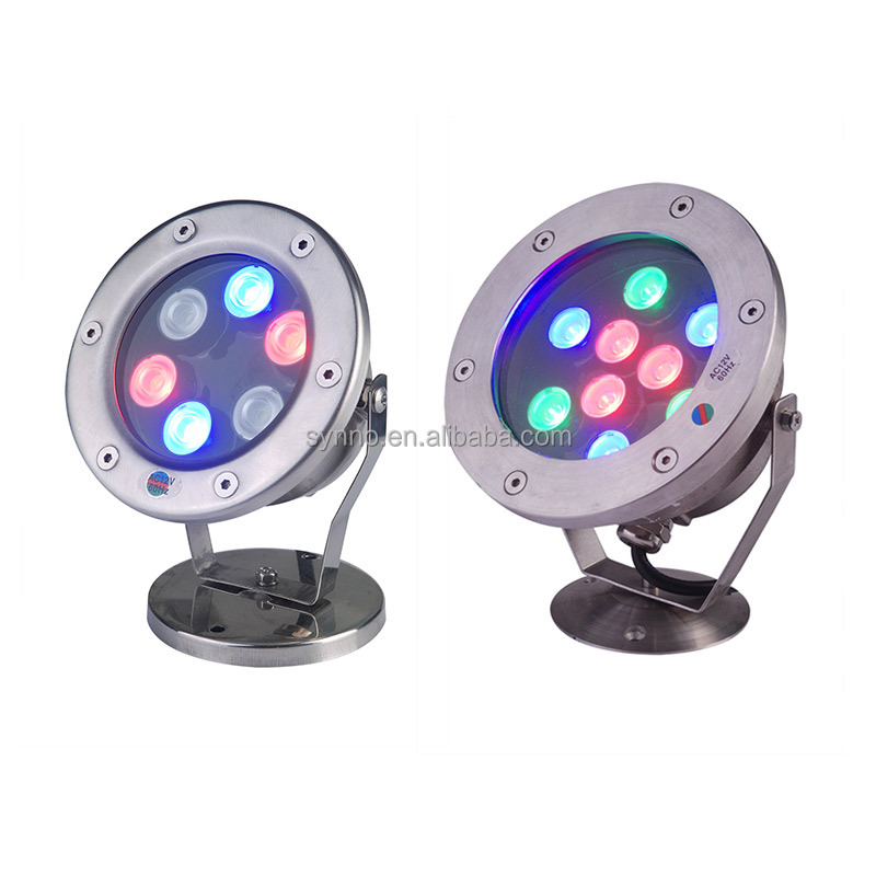 Rgb Led Underwater Light 36w Dc12v 24v Ip68 Waterproof Swimming Pool Light Lamp Water Spotlight Fountain Lights Outdoor Dmx512 To Make One Feel At Ease And Energetic Led Lamps Lights & Lighting