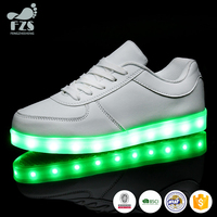 HFR-TS197 2016 new style wholesale men leather dress led dance shoes