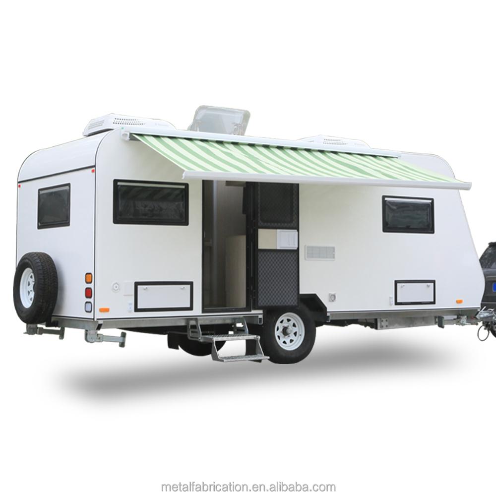 Ecocampor lujo camino camping caravana remolque con toldo para la ...
