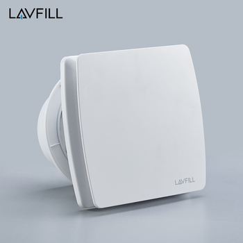 Moderne Silent Ventilator Small Exhaust Fan In Toilet Axial Air Extractor DL28
