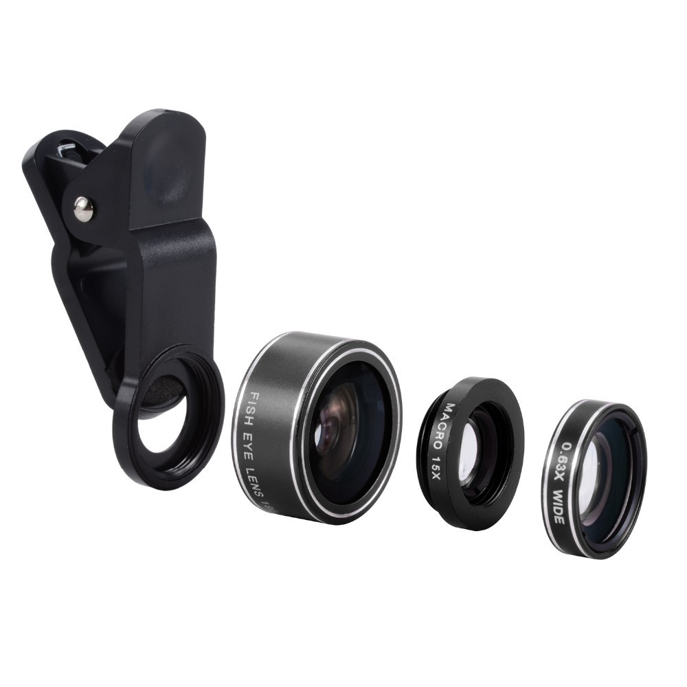 Made In China Cheapest Hd Fisheye+wide Angle+macro Camera Lens For ...
