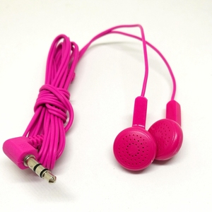China manufacture disposable headphone in ear airline earphone with cheap price