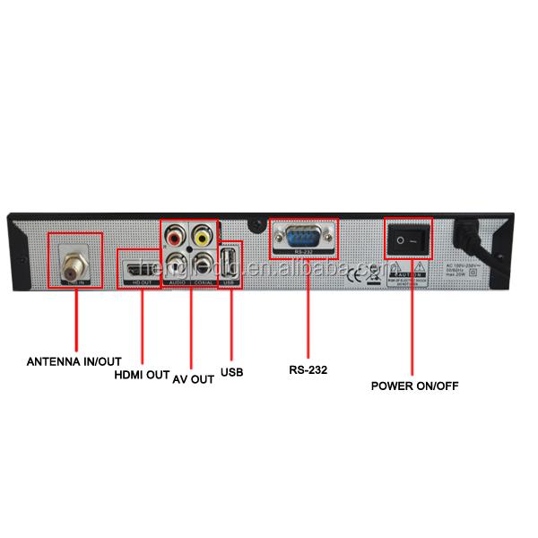 Hot 1080p Full Hd Dvb S2 Small Tv Set Top Box Dvb T2 Encoder