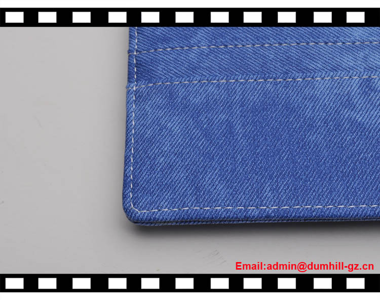 Office folder A5 PU organizer with strap closure