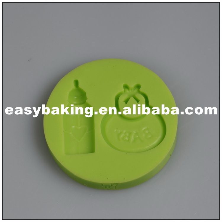 es-8410_Infant Series Bottle Baby Bib Handicraft Candy Silicone Mold For Fondant Cake Decorating_9598.jpg