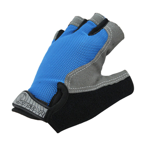 Breathable Half Finger Out Orange Cycling Riding Racing Bike Bicycle Gloves