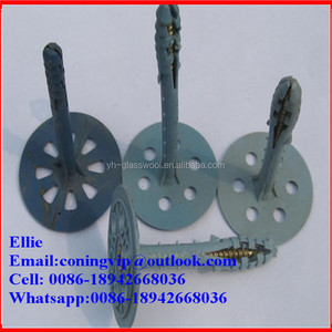 Heat Insulation Plastic Cap Nails/plastic pins