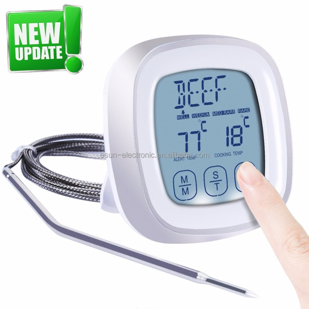 Amazon-Top-Verkäufer sofort lesen Digital Cooking Meat Thermometer Food Probe Thermometer für die Küche BBQ