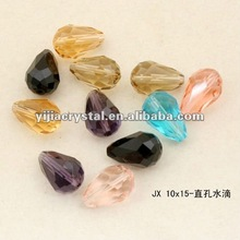 Faceted Teardrop Crystal Beads Wholesale