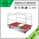 high quality cheap hotel restaurant round banquet table trolley