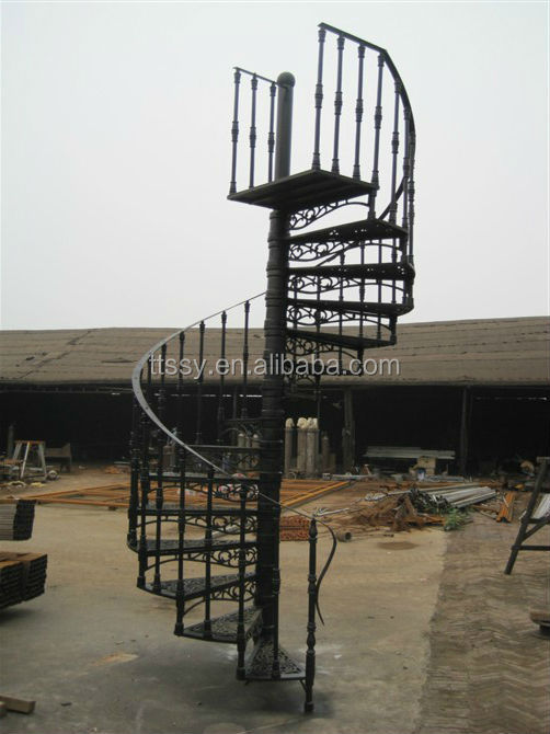 Professinal Wought Outdoor Cast Iron Stair   Buy Cast Iron Stair,Cast Iron  Stair,Cast Galanized Stair Product On Alibaba.com