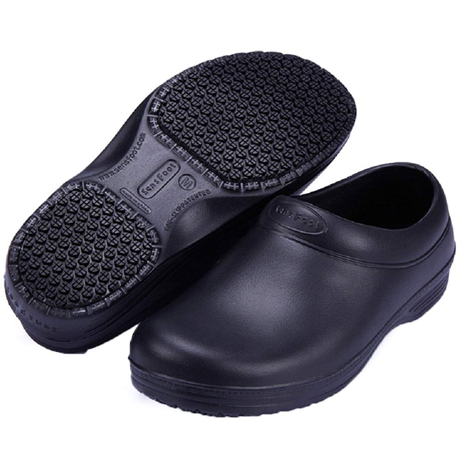 1235c12f847c Get Quotations · Ehomelife Slip Resistant Chef Shoes Clogs Kitchen Work  Shoes SW-05 Unisex Anti-Slip