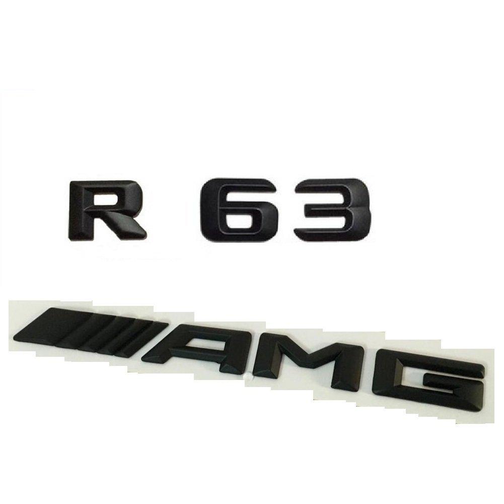 Cheap R63 Amg Find Deals On Line At Alibabacom 1993 Mercedesbenz 400sel Engine Wiring Harness Genuine Get Quotations Matt Black Number Letters Car Trunk Badge Emblem