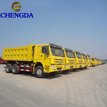 Cheap Sinotruk 6x4 Howo 371hp 25 Ton 40 Ton Dump Truck