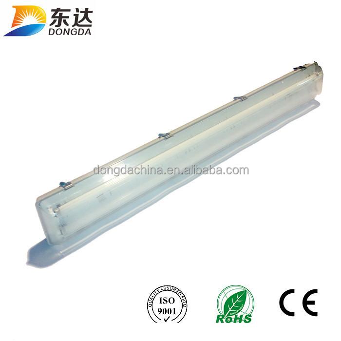 2x36w T8 Emergency Light Waterproof Fixture Fluorescent Lighting Wet Room Ip65 Ip 65 Tri Proof Led