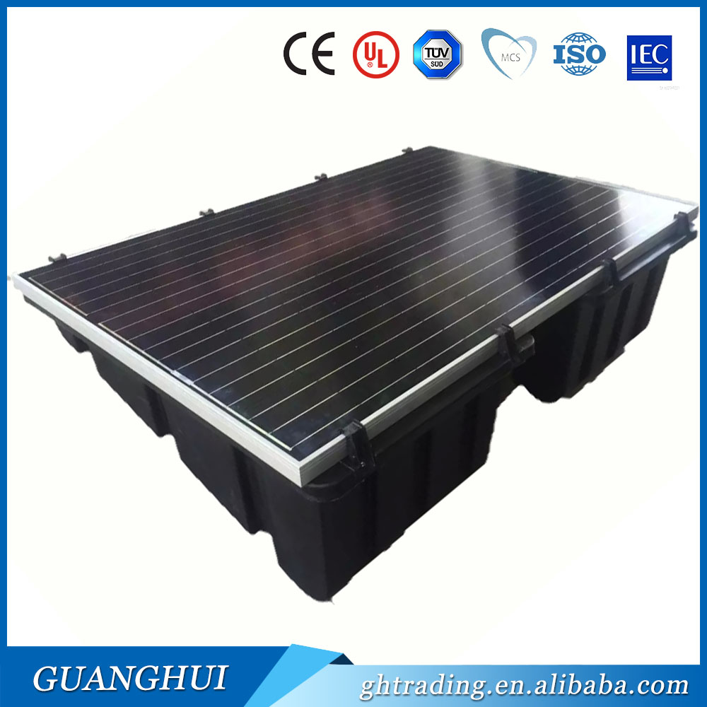 Adjustable plastic solar panel roof mounting bracket structure for home industry system