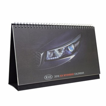 2020 OEM & ODM China factory high quality custom promotional cheap desk pad calendar with custom logo printing